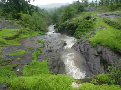 Malshej Ghat - Waterflow1