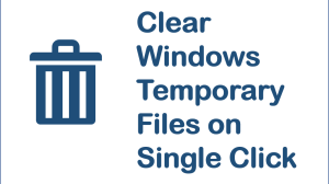 Clear Windows Temporary Files