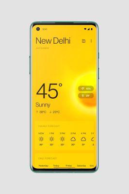 OnePlus Weather - Oxygen OS 11