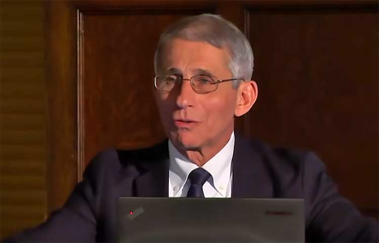 anthony fauci predicting pandemic