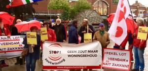 Stil protest bij magnesiumdagen Veendam 2017