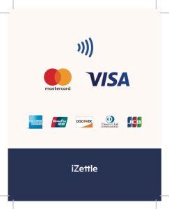 Izettle credit card