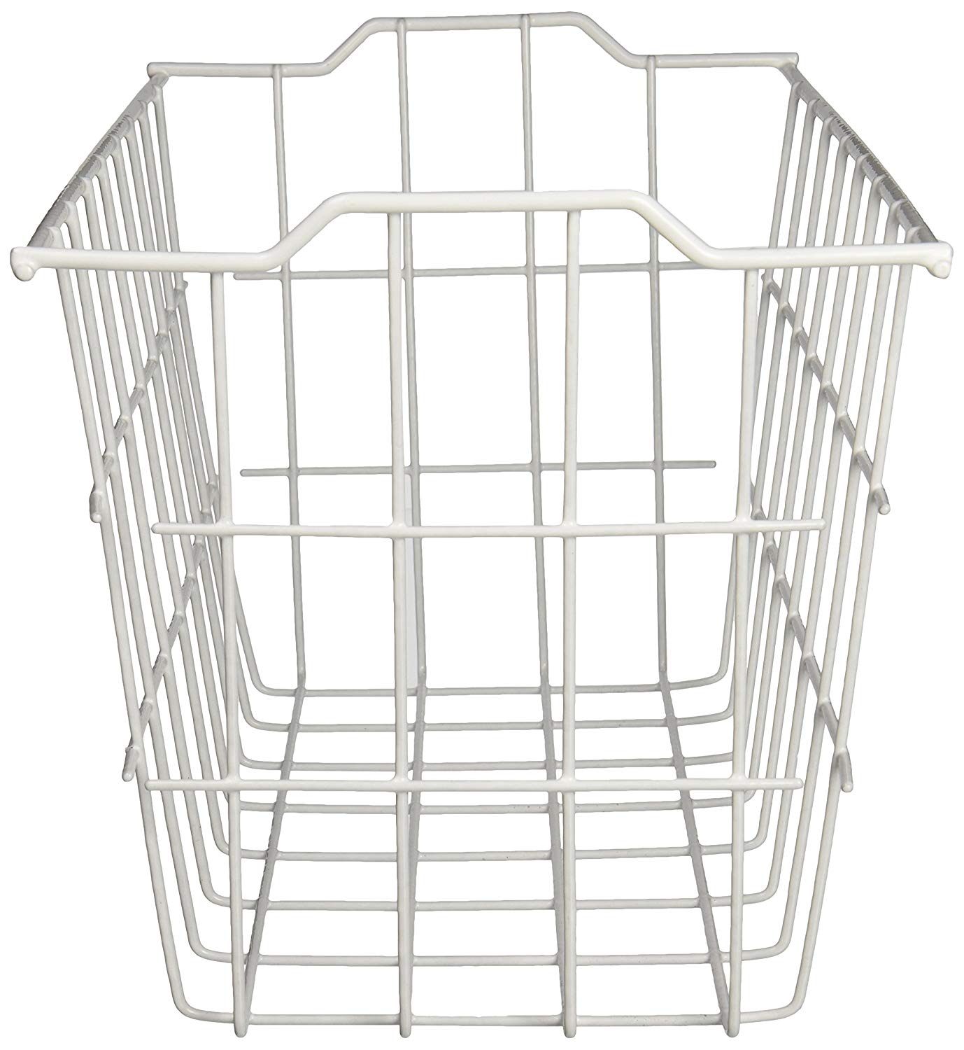 Extra Large 15.25 x 7.5 Gray Cabinet & Wall Mount Basket