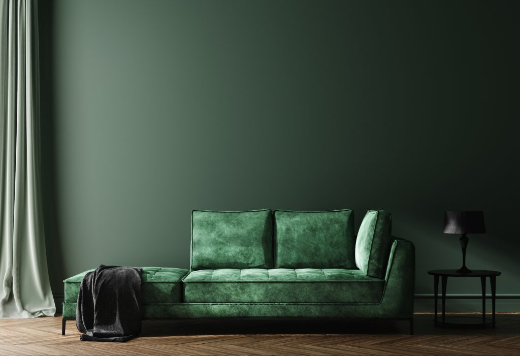 sofa with gradient color ideas