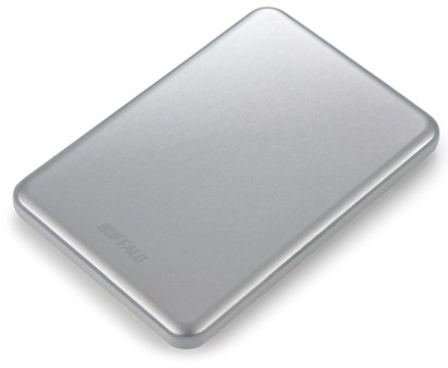 Buffalo MiniStation Slim silver