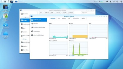 Synology DSM 5.0 Performance Monitor