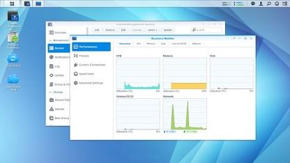 Synology DSM 5.0 Performance Monitor