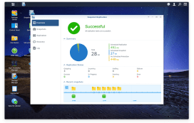 snapshot replication, DiskStation Manager 6.0, Synology