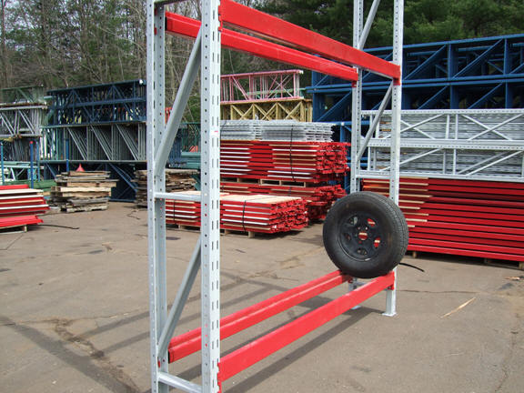 New  Used Tire Racks