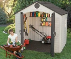 Lifetime 6411 Outdoor Shed