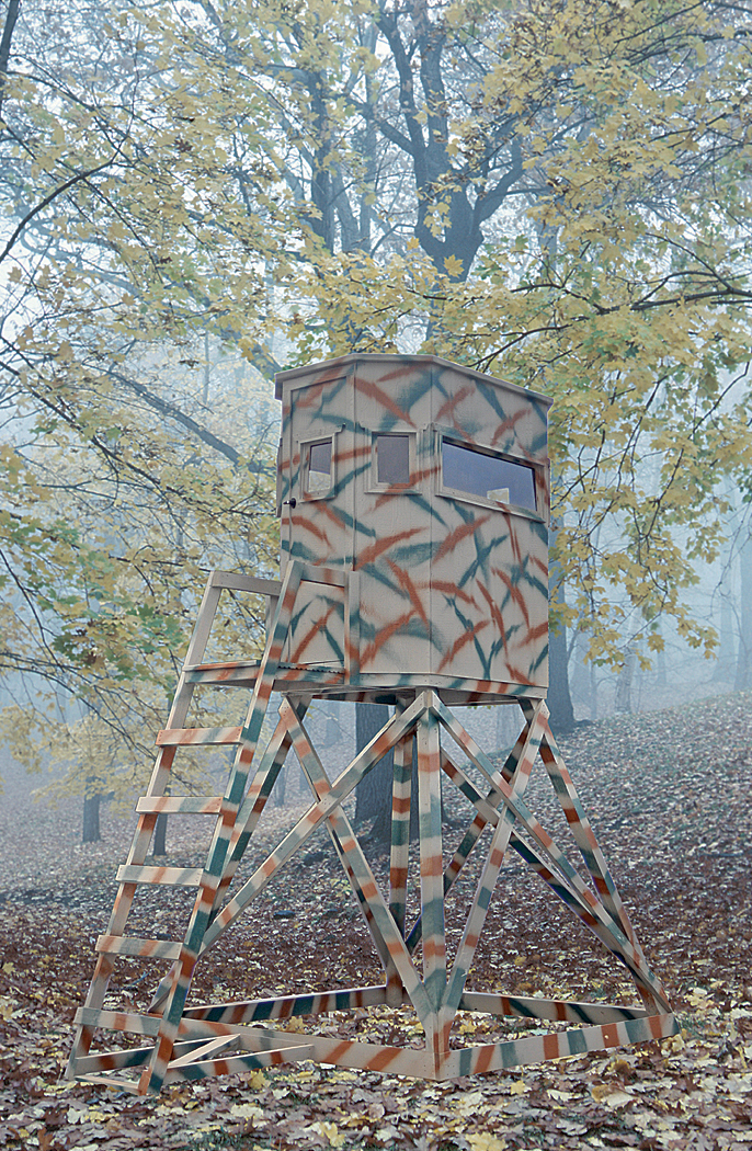 high chair deer stand sofa sleeper the wylde series hunting blind pine creek structures hideaway