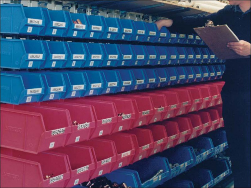 Small Parts Storage  Storage Systems Gloucestershire