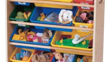 tot tutors toy organizer primary colors - Tot Tutors Book Rack Primary Colors