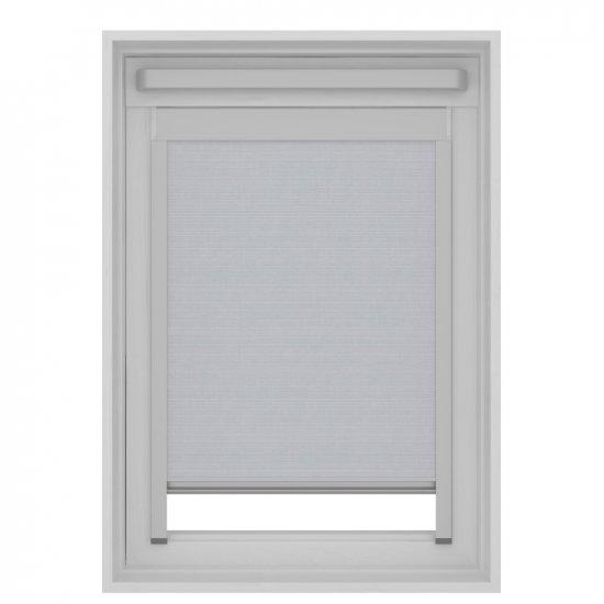 store enrouleur pour fenetre velux gris clair structure ggl 10