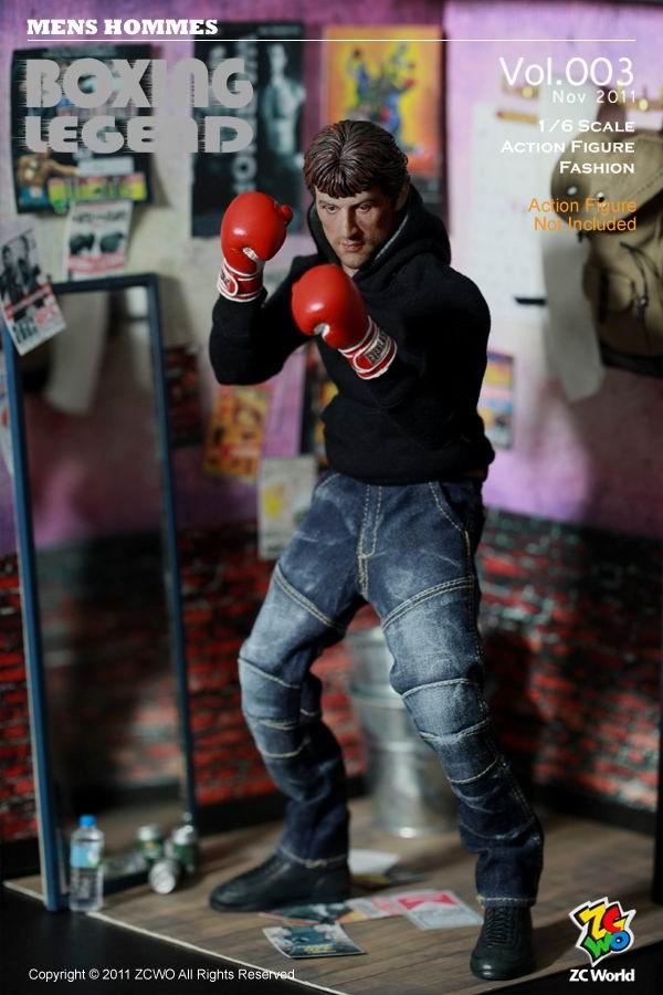 16 ZCWO Mens Hommes  Vol003 Boxing Legend  Store