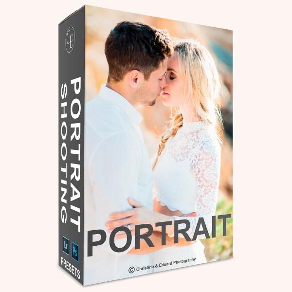 Portraitshooting Presets für LR und Photoshop ACR