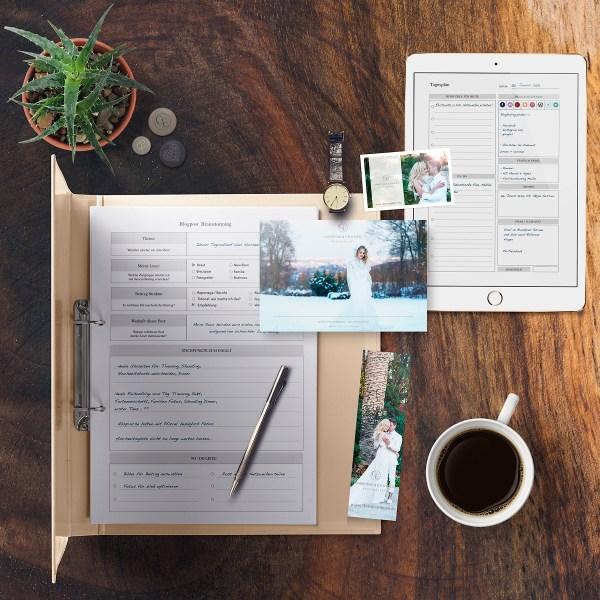 praktischer Business- und Zeitplaner
