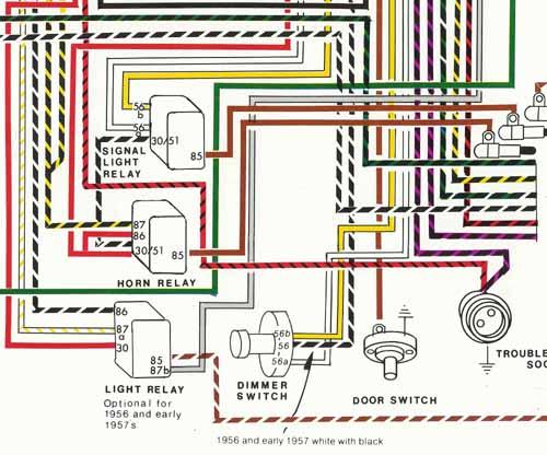 Porsche® 1956 1959 Wiring Diagram POSTER YnZ's Online Store