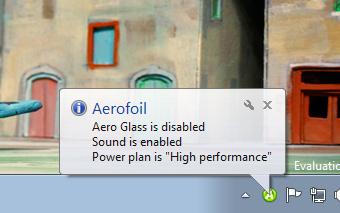 Aero - Reducerea consumului