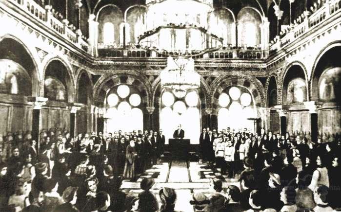 28 Noiembrie 1918 Comitetul Executiv Al Consiliului National Din Bucovina