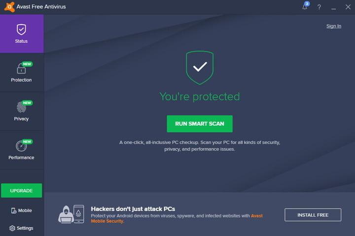 avast antivirus gratuit storeday romania