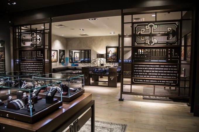 High end Jewelry brand store interior decoration and