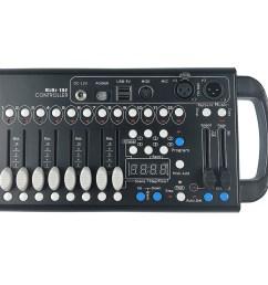 cr mini dmx 192 channel dmx controller dmx lighting controllers store dj [ 1000 x 1000 Pixel ]