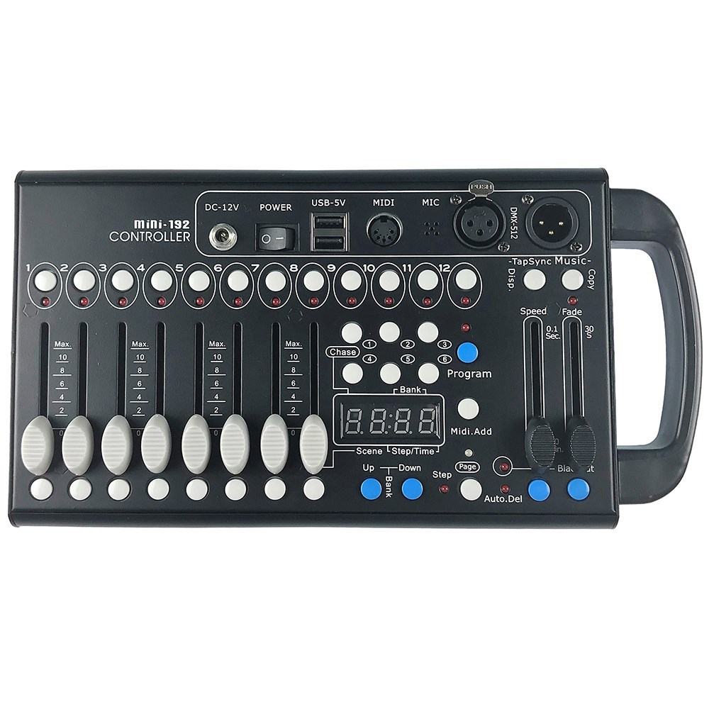 hight resolution of cr mini dmx 192 channel dmx controller dmx lighting controllers store dj