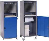 Computer Cabinets Computer Security and Storage Cabinet