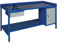 Heavy Duty Steel Work Benches Welded steel workbench