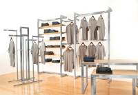 Alta Clothing Display Racks, Clothes Table Displays ...