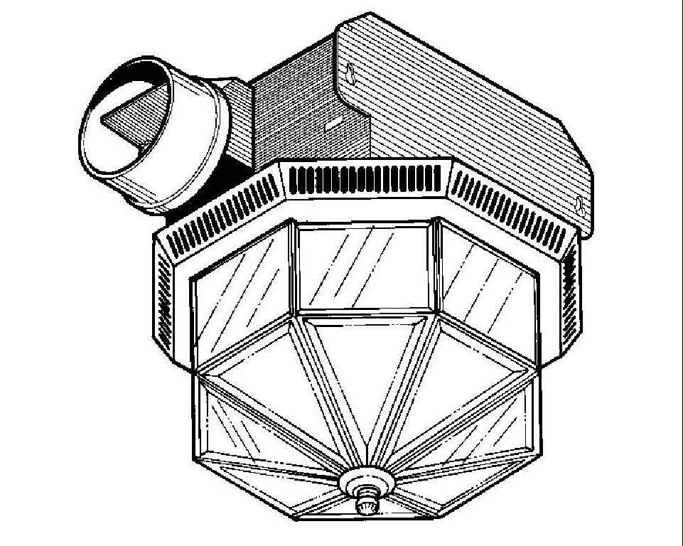 Broan 740 BR Ventilation Fan Fan/Light Brass Parts