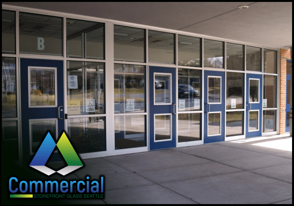 73 commercial storefront glass seattle repair install business glass door 2