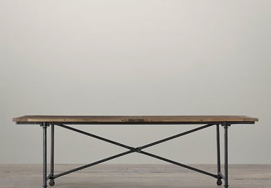 Industrial Dining Table And Chairs