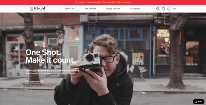 Shopify alternatives Polaroids