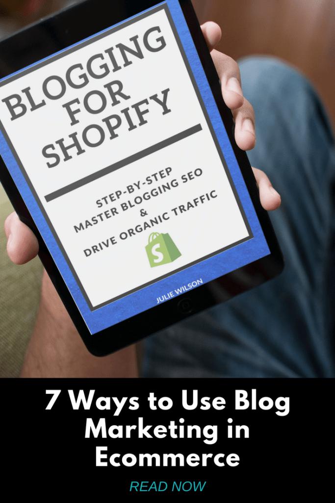 Blog Marketing for Shopify