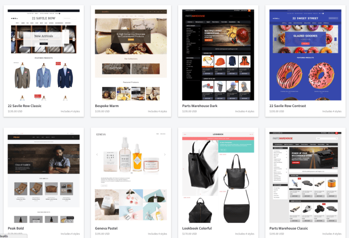 shopify vs bigcommerce paid themes
