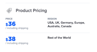 Subliminator Shipping Prices