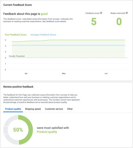 Shopify Print on Demand Feedback Score