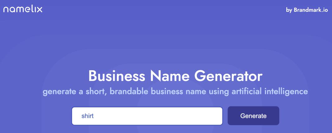 T shirt Business Names