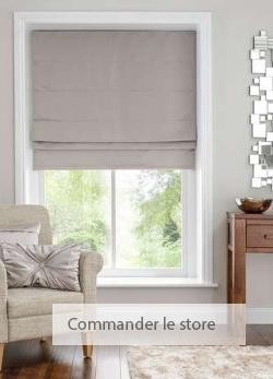 rideaux dans une couleur grise