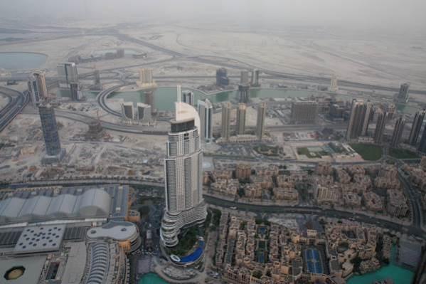 Dubai Aussicht Burj Khalifa