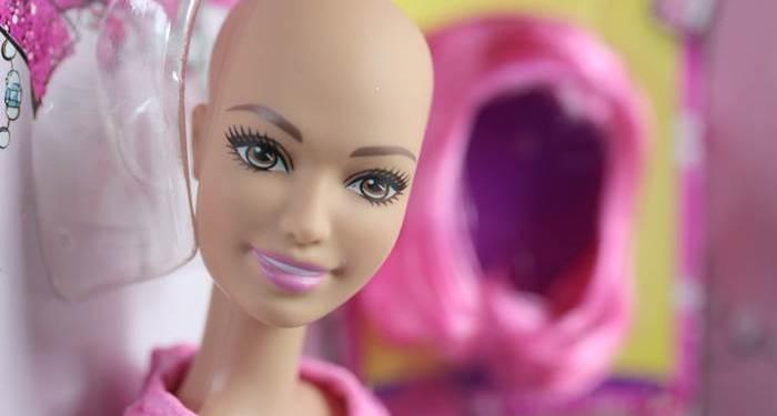 Ella - eine Freundin von Barbie, Alopecia areata, Barbie