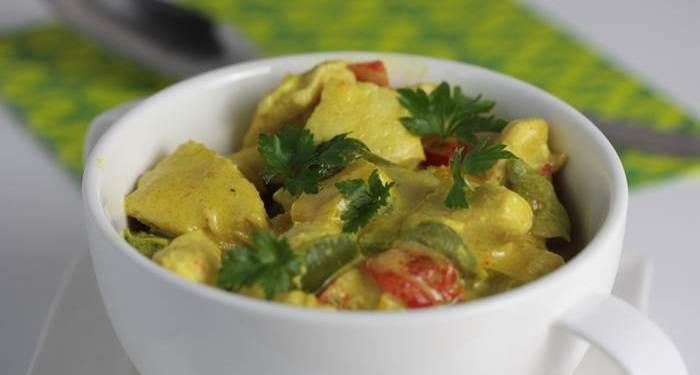 LowCarb - einfaches Hähnchen Curry Rezept low carb