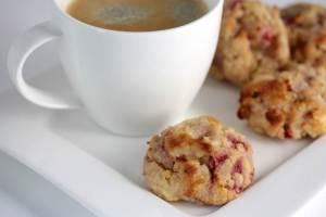 Teekuchen mit Erdbeeren und Rum-Shortcakes-Cookies-lowcarb