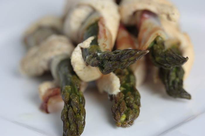 LowCarb - Twisted Green Asparagus grüner Spargel Rezept low carb