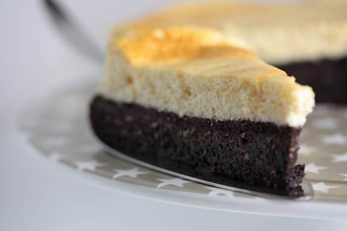 Schoko-Käse-Kuchen-low carb-Rezept