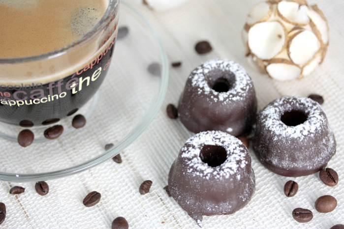 Kaffee Trüffel Pralinen-lowcarb-Rezept-Füllung