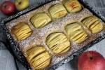 Versunkener Apfelkuchen-lowcarb-Rezept-Apfelkuchen