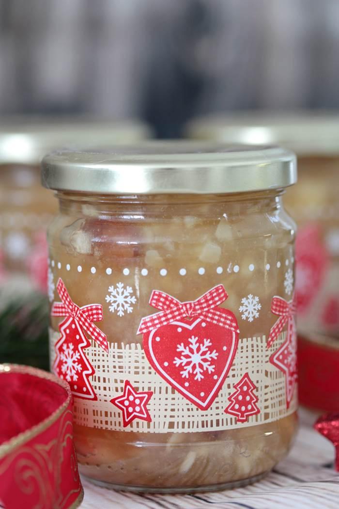 Bratapfel-Konfitüre low carb - ein Geschenk aus der Küche zu ...